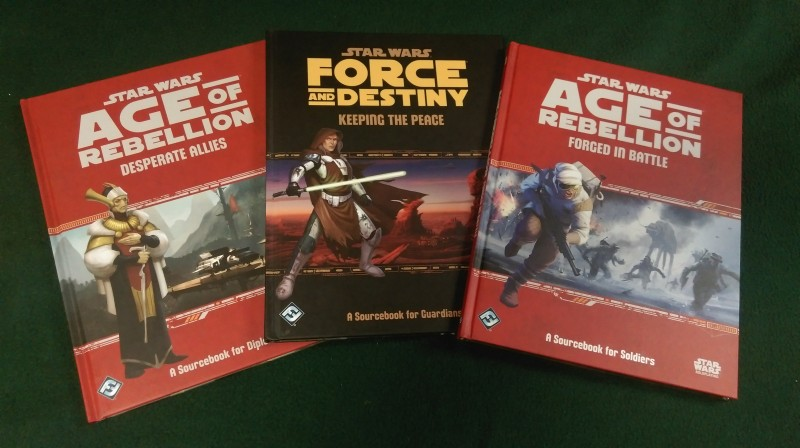 Star Wars books I contributed to